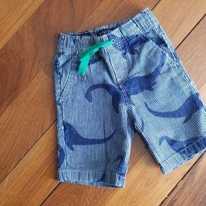 Mini Boden Dinasaur Shorts